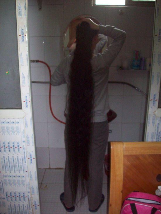 Nangongxunyi Made Long Hair To Bun Chinalonghair Com