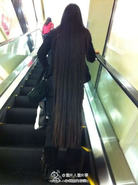 Long Hair Photos From Chinese Twitter 6 Chinalonghair Com