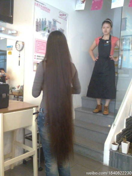 Long Hair Photos From Chinese Twitter 11 Chinalonghair Com