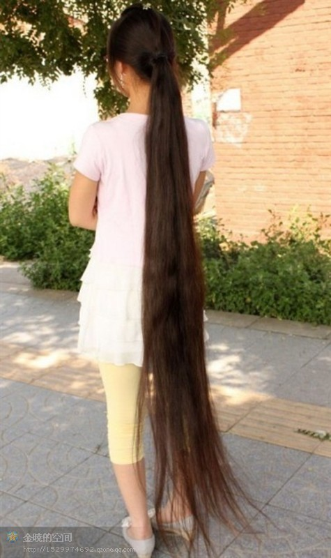 Super Long Ponytail Reach To Floor Chinalonghair Com