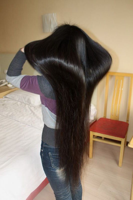 how to make hair long and silky at home