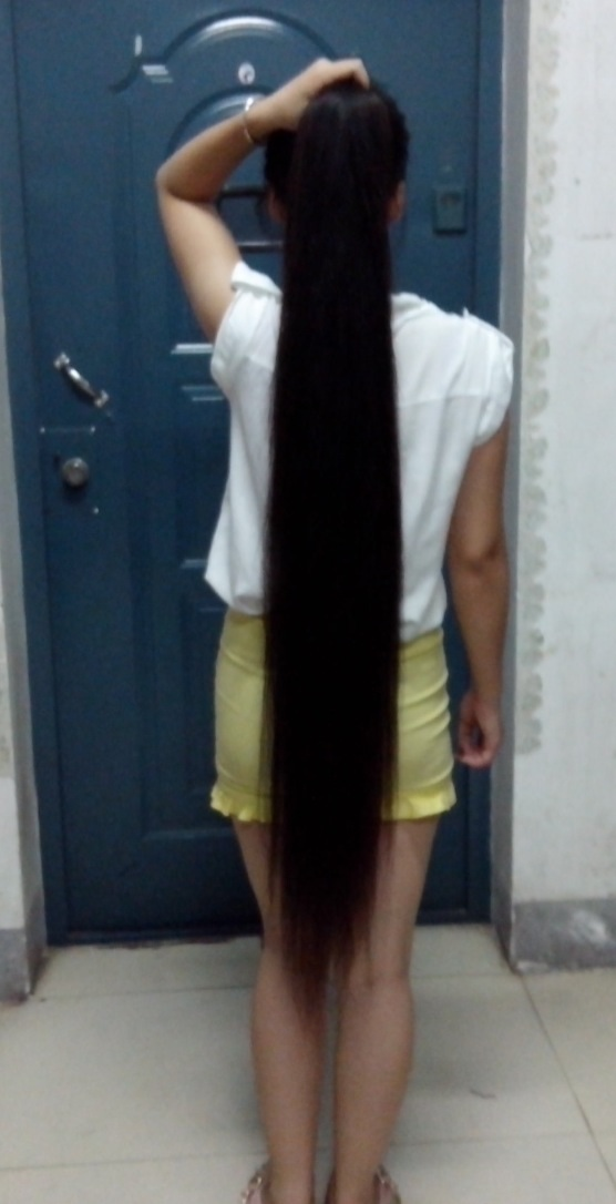 knee length long ponytail chinalonghaircom