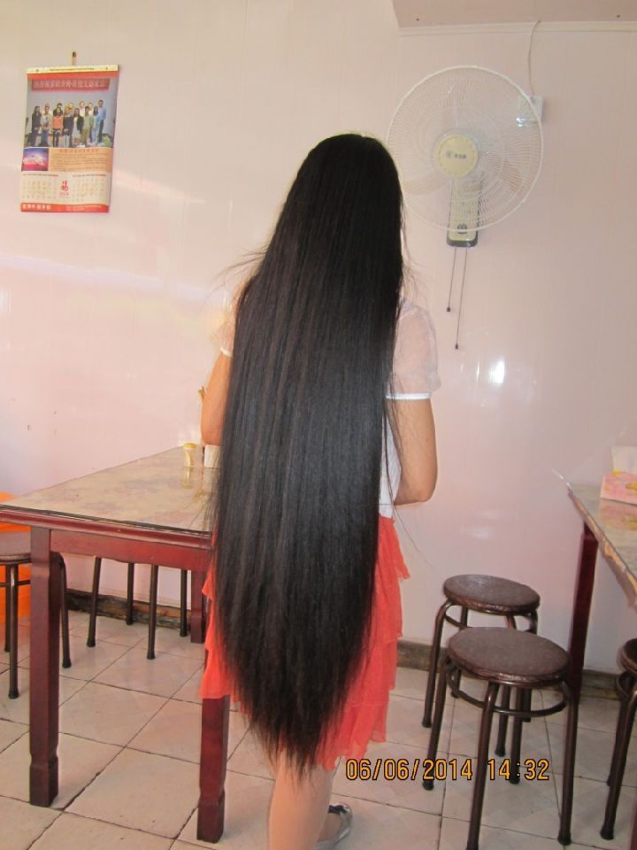 Super Thick Long Braid Of Young Girl Chinalonghair Com
