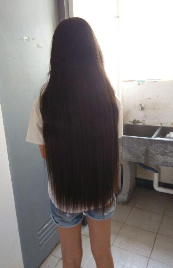hip length long hair student chinalonghaircom