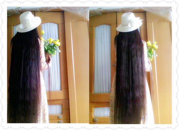 She loves long hair and flowers-1